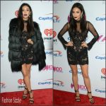 Shay Mitchell  In  Oglia-Loro –  Z100's Jingle Ball 2015 in New York