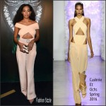 Solange Knowles in Cushnie et Ochs at the From Earth to Heart Party