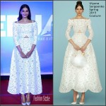 Sonam Kapoor In Ulyana Sergeenko Couture At 'Neerja' Trailer Launch