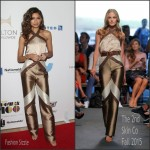 Zendaya Coleman  In The Skin Co jumpsuit – 2015 Ebony Power 100 Gala
