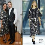 Zoe Saldana In Preen  At The Art Of Elysium Celebrates The Work Of Jared Lehr