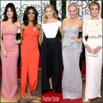 2016 Golden Globe Awards  Redcarpet Roundup