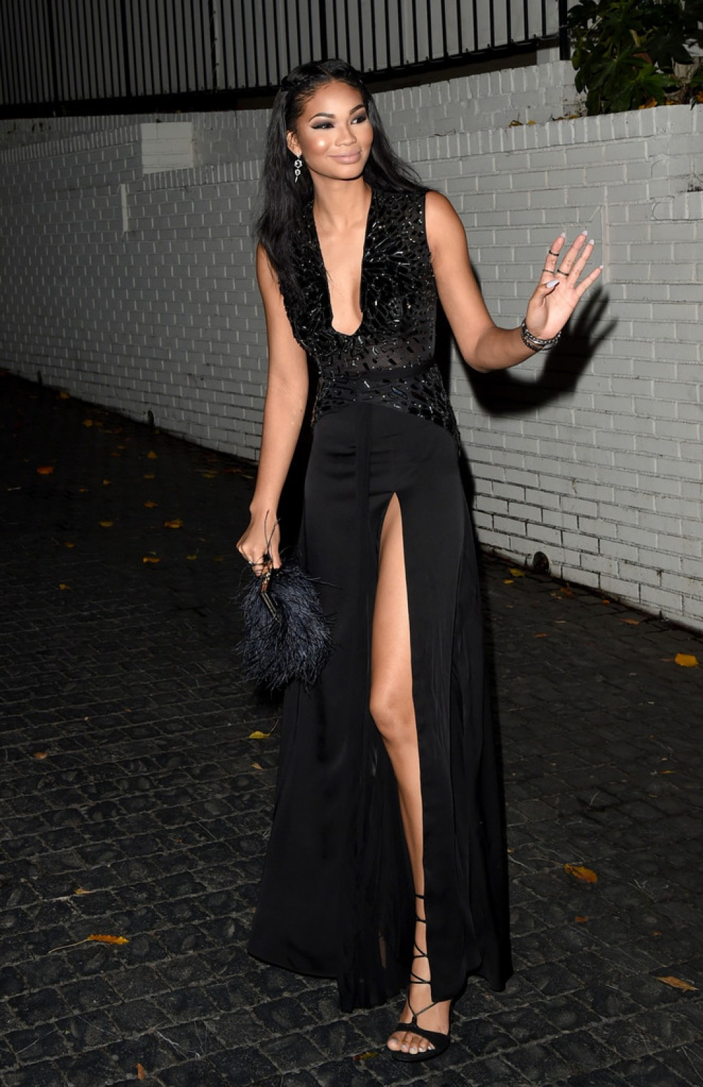 W-Magazines-Pre-Golden-Globes-Party-Chanel-Iman-1024x1583