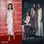Alicia Vikander  in Erdem – 2016 Palm Springs International Film Festival Awards Gala
