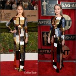 Alicia Vikander In Louis Vuitton – 2016 Screen Actors Guild Awards