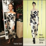Alicia Vikander In  Marc Jacobs – W Magazine's Pre-Golden Globes Party