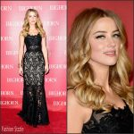 Amber Heard  in  Dolce & Gabbana – 2016 Palm Springs International Film Festival Awards Gala