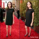 Angelina Jolie in Saint Laurent -' Kung Fu Panda 3 ' LA Premiere