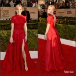 Anna Faris  In Naeem Khan – 2016 Screen Actors Guild Awards