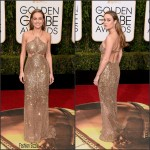 Brie Larson  In Calvin Klein – 2016 Golden Globe Awards