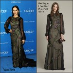 Camilla Belle  In  Monique Lhuillier – 2016 UNICEF Ball