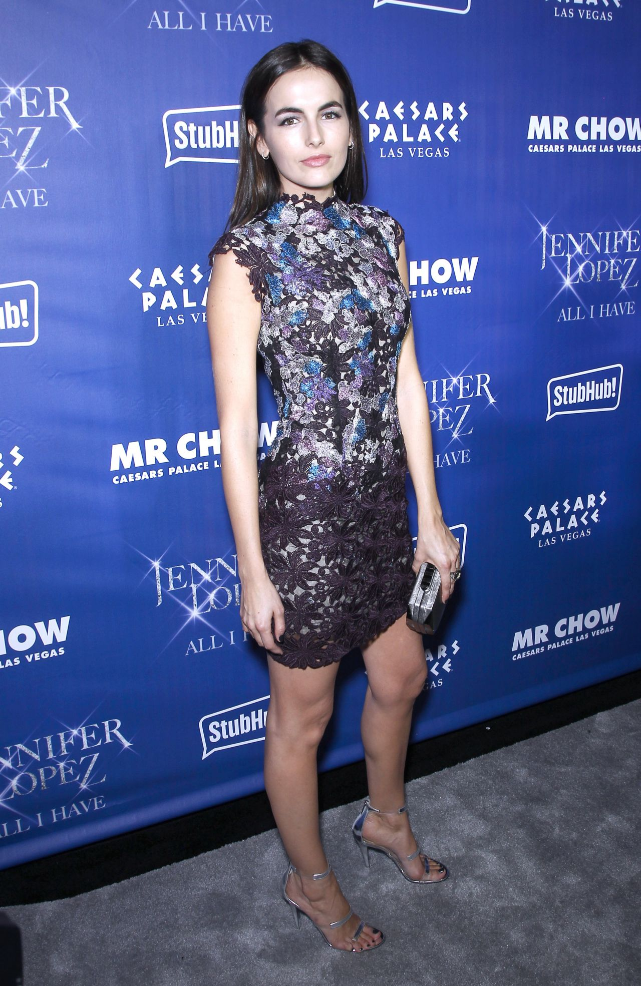 Camilla Belle In Monique Lhuillier Jennifer Lopez S All