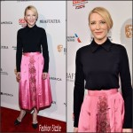 Cate Blanchett  in Camilla & Marc– 2015 BAFTA Los Angeles Awards Season Tea