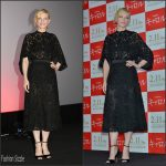 Cate Blanchett in Givenchy – 'Carol' Stage Greeting in Tokyo