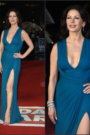 catherine-zeta-jones-in-elie-saab-the-dads-army-london-premiere