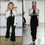 Chloe Moretz in Proenza Schouler – 'The 5th Wave' Paris Photocall
