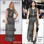 Claire Danes in Burberry  – 2016 People's Choice Awards