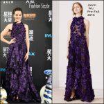 Daisy Ridley  in Jason Wu-  Star Wars :  The Force Awakens  Shanghai Fan Event Premiere