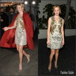 Elizabeth Banks In  Dolce and Gabbana –  W Magazine 2016 Golden Globe Party in Los Angeles