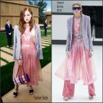 Ellie Bamber In  Chanel – Chanel Paris Fashion Week