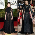 Emilia Clarke In Valentino Couture – 2016 Golden Globe Awards