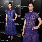 Emily Blunt  In  Elie Saab – 2016 National Board of Review Gala
