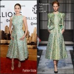 Emmy Rossum in Schiaparelli Couture – 'Billions' Series New York Premiere