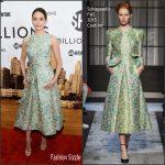 Emmy Rossum in Schiaparelli Couture – 'Billions' Series New York Premiere