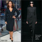 Eva Longoria in Porsche Design At  'Extra'