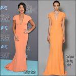 Gina Rodriguez In Safiyaa – Critics' Choice Awards