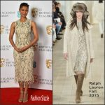 Gugu Mbatha-Raw in Ralph Lauren – EE British Academy Film Awards Nominations Announcement