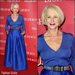 Helen Mirren in Alberta Ferreti at the Palm Springs Film Festival