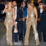 Jennifer Lopez in Michael Kors  Collection – Jimmy Kimmel Live