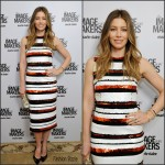 Jessica Biel in Dolce and Gabbana -Marie Claire's Image Maker Awards 2016