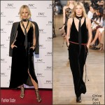 Karolina Kurkova In Chloe – IWC 'Come Fly With Us' Gala Dinner in Geneva