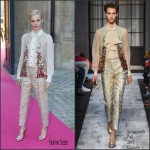 Kate Bosworth In Schiaparelli Couture – Schiaparelli Paris Fashion Week