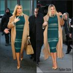 Khloe Kardashian In Self-Portrait –  'Good Morning America'