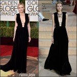 Kirsten Dunst in Valentino  – 2016 Golden Globe Awards
