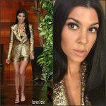 Kourtney Kardashian  In  Lanvin – Ellen Degeneres Show