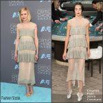 Kirsten Dunst  In Chanel –  2016  Critics Choice Awards