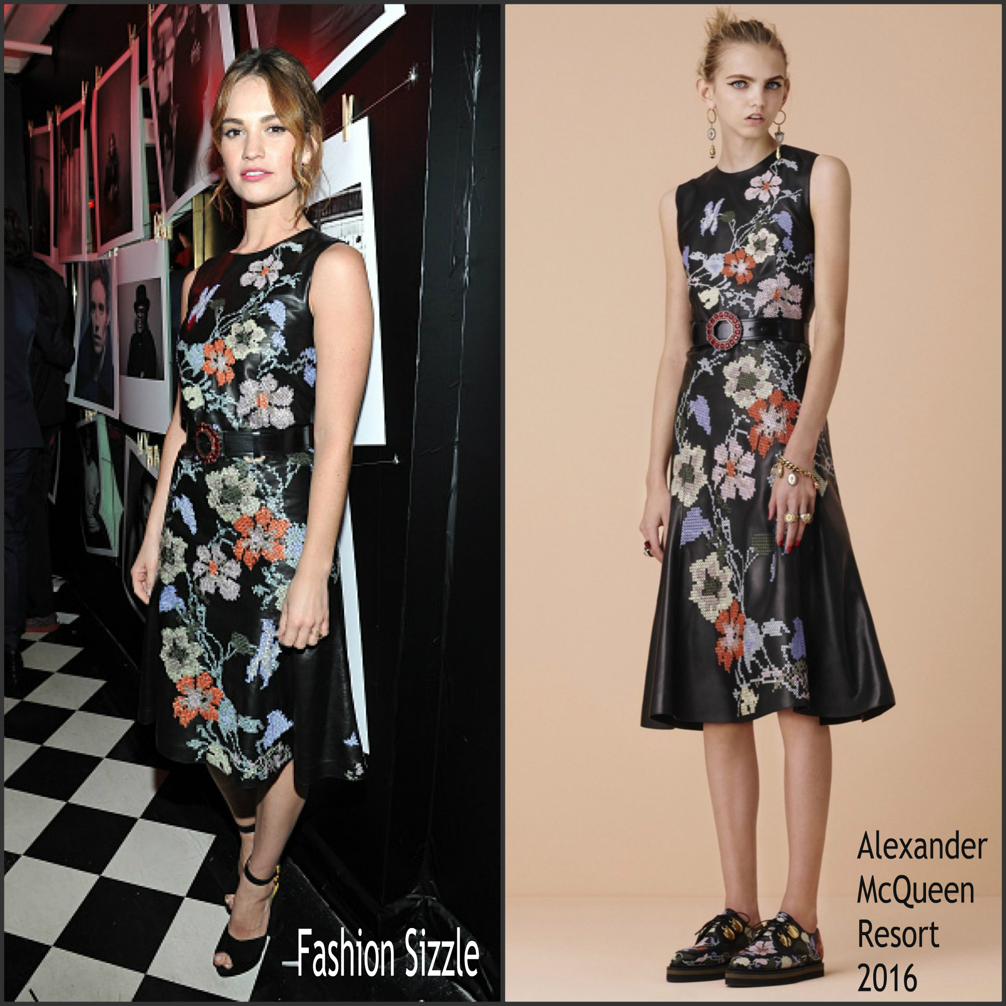 lily-james-in-alexander-mcqueen-w-magazine-pre-golden-globes-party