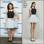 Lucy Hale  In  Alex Perry – SiriusXM Studios