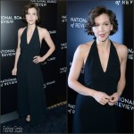 Maggie Gyllenhaal In The Row dress – 2015 National Board of Review Awards Gala