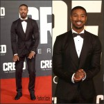 "Michael B. Jordan  In  Dolce & Gabbana  – ""Creed"" London Premiere"