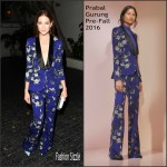 Michelle Monaghan  in Prabal Gurung -W Magazine's Pre-Golden Globes Party