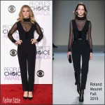 Natalie Dormer in Roland Mouret – 2016 People's Choice Awards
