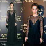 Natalie Portman In  Dior – 'Jane Got A Gun' Paris Premiere
