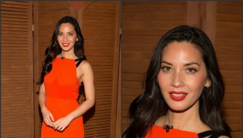 olivia-munn-in-roland-mouret-despierta-america-morning-show-in-miami