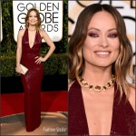 Olivia Wilde  In  Michael Kors – 2016 Golden Globe Awards