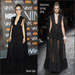 Olivia Wilde in Valentino -' Vinyl' New York Premiere